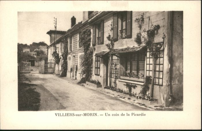 Villiers-sur-Morin Coin Picardie *