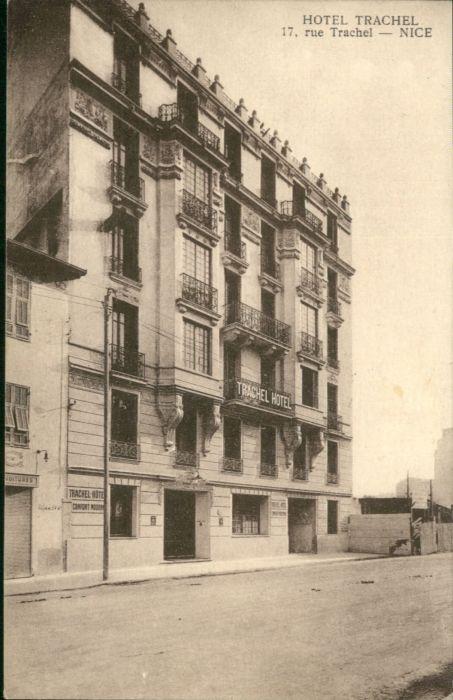 ww85065 Nice Alpes Maritimes Nice Hotel Trachel Rue * Kategorie. Nice Alte Ansichtskarten