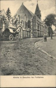 Beaulieu-les-Fontaines Kirche x