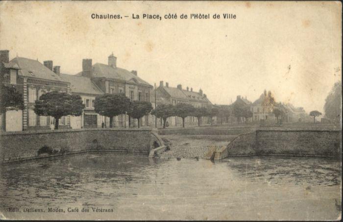 Chaulnes Place Hotel de Ville *