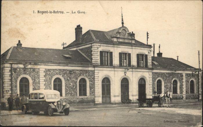 Nogent-le-Rotrou Gare Bahnhof  *