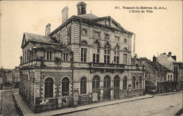 Nogent-le-Rotrou Hotel de Ville *