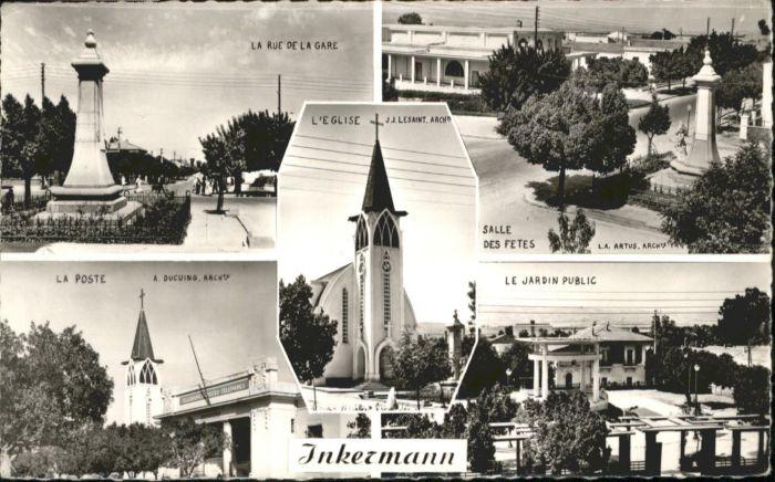 Inkermann Rue Gare Poste Eglise *