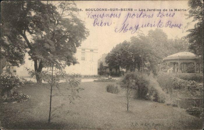 Boulogne Vendee Boulogne Sur Seine Les Jardins Mairie x / Boulogne /Arrond. de La Roche-sur-Yon