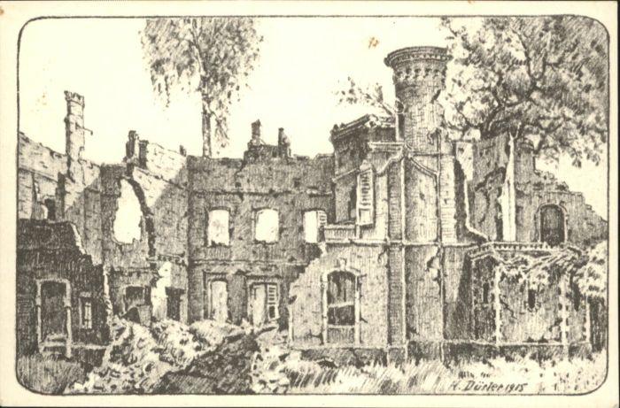 Fricourt Schloss Kuenstler A Duerler *