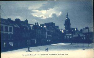 Lamballe La Place du Marche *