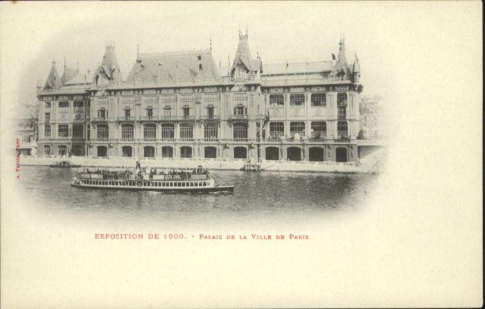 Paris Palais de la Ville de Paris *