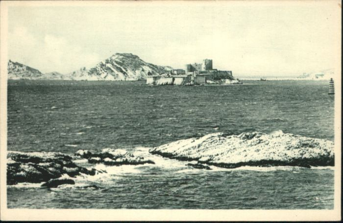 ww87186 Marseille Marseille Le Chateau d'If * Kategorie. Marseille Alte Ansichtskarten
