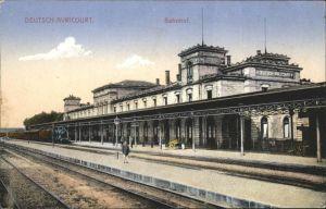 Deutsch-Avricourt Bahnhof Zug x