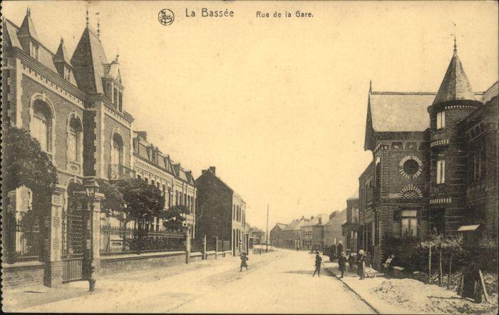 La Bassee Rue de la Gare x
