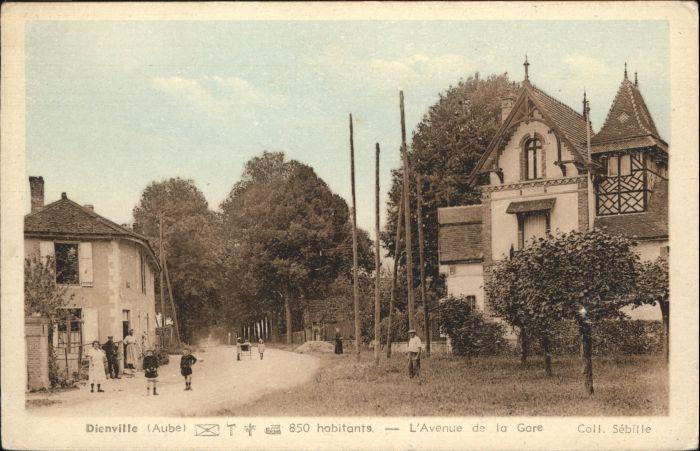 Dienville Avenue de la Gare *