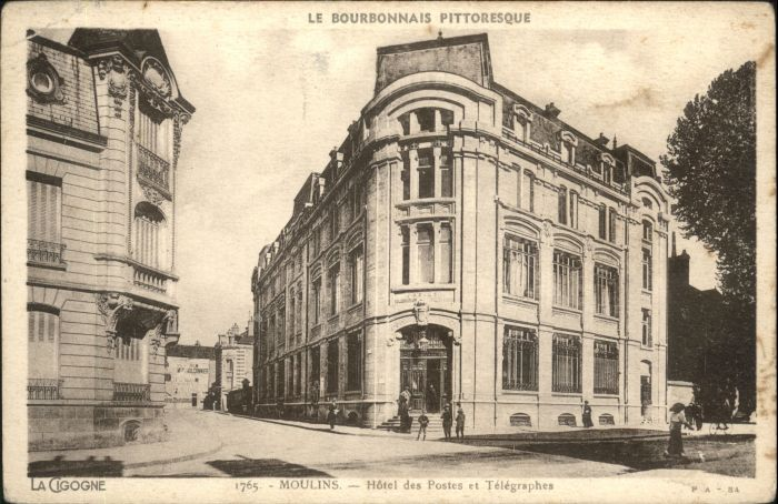 Cigogne Hotel Postes Telegraphes *
