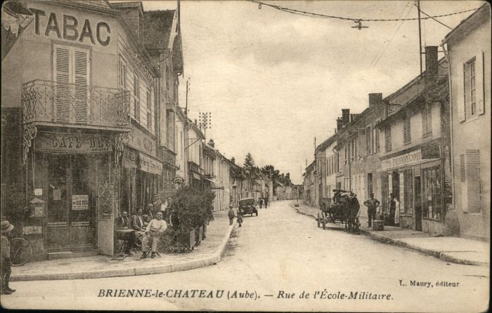 Brienne-le-Chateau Rue Ecole Militaire *