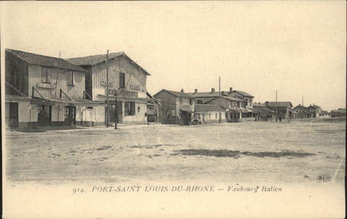 Port-Saint-Louis-du-Rhone Faubourg  *