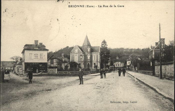 Brionne Rue Gare x