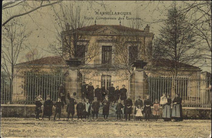 Marsillargues Ecole Communale Garcons *