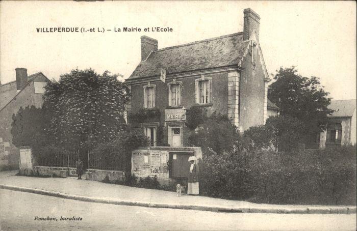 Villeperdue Mairie Ecole *