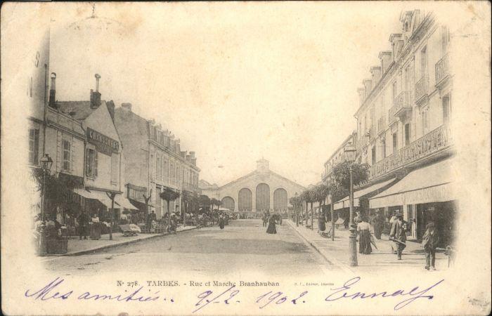 Tarbes Rue Marche Branhauban x