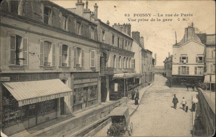 Poissy Rue Paris x