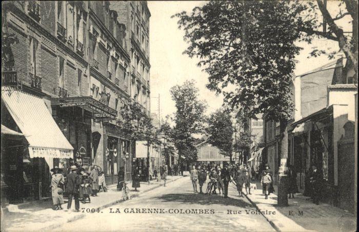 La Garenne-Colombes Rue Voltaire x