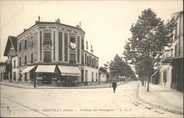 Gentilly Seine Avenue Mazagran *