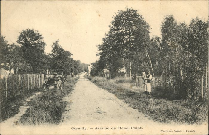 Coeuilly Avenue Rond-Point x