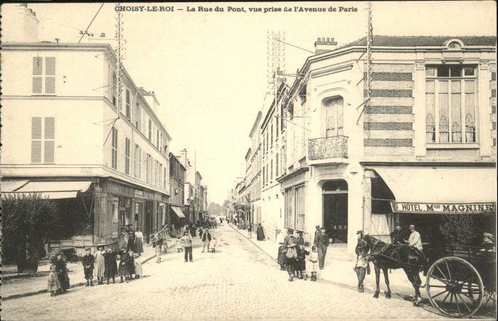 Choisy-le-Roi Rue Pont Avenue Paris Hotel  *