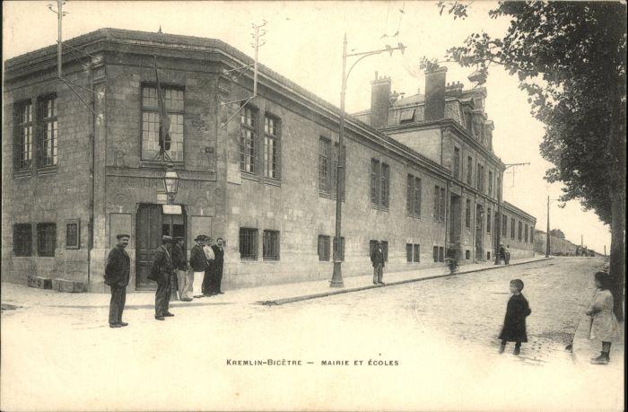 Le Kremlin-Bicetre Mairie Ecole *