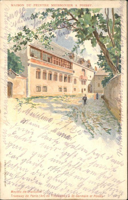 Poissy Maison Peintre Meissonier x