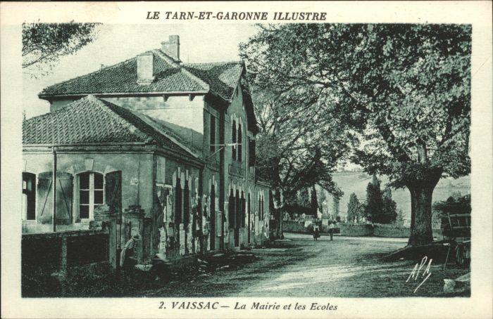 Vaissac Mairie Ecole *
