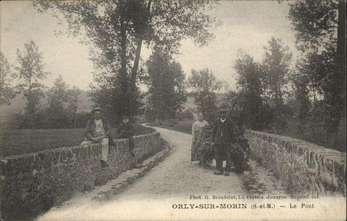 Orly-sur-Morin Pont *
