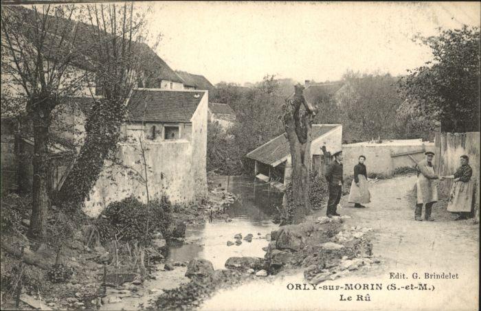 Orly-sur-Morin Ru *