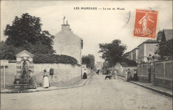 Les Mureaux Rue Maule x