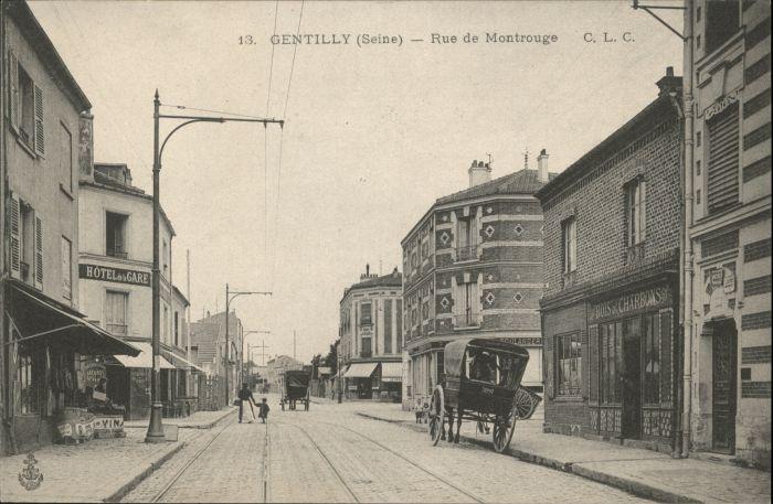 Gentilly Seine Rue Montrouge *