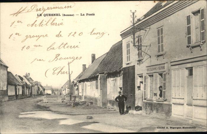 Le quesnel somme poste * nr. wx40231 oldthing: ansichtskarten