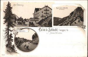 Col de la Schlucht Hotel Defranoux Chalet Hartmann Vosges *