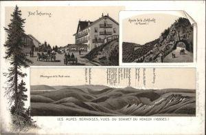 Col de la Schlucht Hotel Defranoux Vosges Route Schlucht *