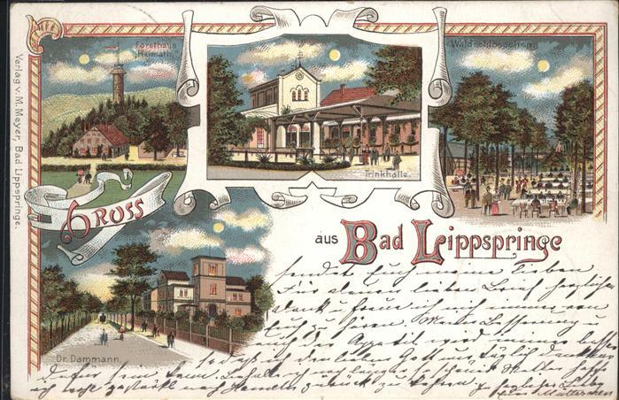 Bad Lippspringe Trinkhalle  Dr. Dammann