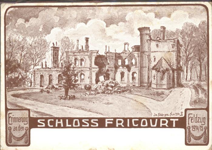 Fricourt Schloss