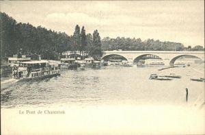 Charenton-le-Pont Schiff Kat. Charenton-le-Pont