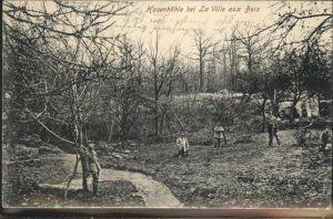 La Ville-aux-Bois Hasenhoehle Kat. La Ville-aux-Bois