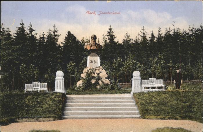 Asch Tschechien asch tschechien jahndenkmal as nr wz06989 oldthing
