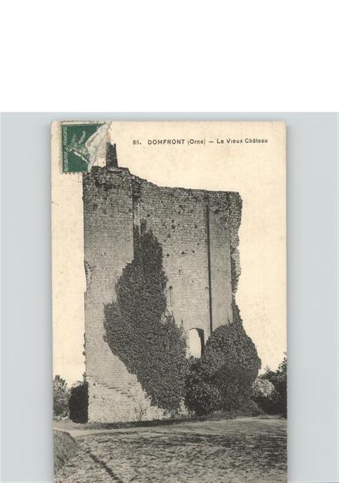 Domfront Orne Vieux Chateau Kat. Domfront