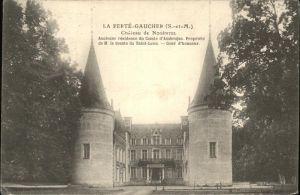 La Ferte-Gaucher Chateau de Nogentel Kat. La Ferte-Gaucher
