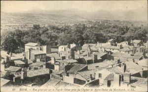 Riom Puy de Dome Vue generale prise du Clocher de Notre Dame du Marthuret Kat. Riom