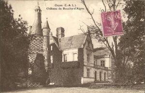 Cloyes sur le Loir Chateau de Bouche d Aigre Stempel auf AK Kat. Cloyes sur le Loir
