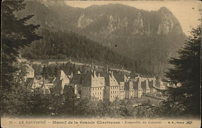 Grande Chartreuse Massif de la Grande Chartreuse ensemble du Couvent Kloster Kat. Saint Pierre de Chartreuse 0