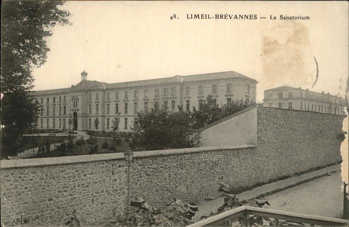 Limeil Brevannes Sanatorium Kat. Limeil Brevannes