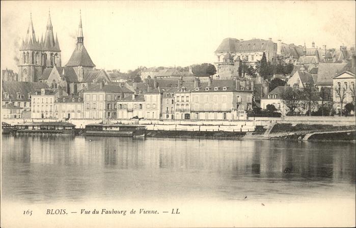 Blois Loir et Cher Vue du Faubourg de Vienne eglise Kat. Blois