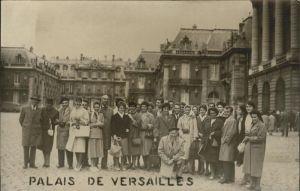 Versailles Yvelines Palais de Versailles Gruppenbild Kat. Versailles